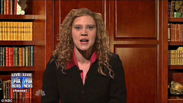 The sketch also featured Kate McKinnon's Debbie Wasserman, who said she wasn't skeptical of refugees because she was surrounded by them, including old people escaping from the cold, in Florida