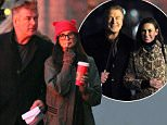 Picture Shows: Alec Baldwin, Demi Moore  November 22, 2015\n \n Actors Demi Moore and Alec Baldwin are spotted filming scenes on the set of upcoming film 'Blind' in New York City, New York.\n \n Non-Exclusive\n UK RIGHTS ONLY\n \n Pictures by : FameFlynet UK ? 2015\n Tel : +44 (0)20 3551 5049\n Email : info@fameflynet.uk.com