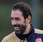 ST ALBANS, ENGLAND - NOVEMBER 20:  (2ndL) ex player Robert Pires with Arsenal's (L) Mikel Arteta and (R) Santi Cazorla of Arsenal during a training session at London Colney on November 20, 2015 in St Albans, England.  (Photo by Stuart MacFarlane/Arsenal FC via Getty Images)