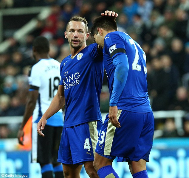 Ranieri calls his players by nicknames with midfielder Danny Drinkwater affectionately known as 'Drinky'