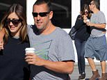 Picture Shows: Jackie Sandler, Adam Sandler  November 19, 2015\n \n Adam Sandler enjoys breakfast with his wife Jackie Sandler in Brentwood, California. \n \n The 'Pixels' star had his arm around his wife's shoulder as they headed to their car.\n \n Exclusive - All Round\n UK RIGHTS ONLY\n \n Pictures by : FameFlynet UK © 2015\n Tel : +44 (0)20 3551 5049\n Email : info@fameflynet.uk.com