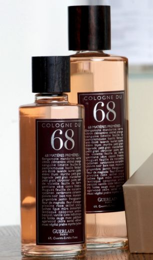 The newly launched Cologne du 68 ¿ a unisex fragrance with 68 ingredients.