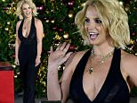 LAS VEGAS, NV - NOVEMBER 21:  Singer Britney Spears arrives to  pull a switch at a Christmas tree-lighting ceremony at The LINQ Promenade on November 21, 2015 in Las Vegas, Nevada.  (Photo by David Becker/Getty Images)