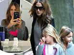 EXCLUSIVE: Sarah Jessica Parker seen arriving home after shopping at 'Uniqlo' with her  twins, Marion and Tabitha.\n\nPictured: Sarah Jessica Parker, Marion and Tabitha\nRef: SPL1182188  211115   EXCLUSIVE\nPicture by: TMNY / Splash News\n\nSplash News and Pictures\nLos Angeles: 310-821-2666\nNew York: 212-619-2666\nLondon: 870-934-2666\nphotodesk@splashnews.com\n