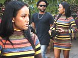 Karrueche Tran with a friend goes shopping at the Grove in Hollywood, CA.\n\nPictured: Karrueche Tran\nRef: SPL1182287  211115  \nPicture by: Be Like Water Production\n\nSplash News and Pictures\nLos Angeles: 310-821-2666\nNew York: 212-619-2666\nLondon: 870-934-2666\nphotodesk@splashnews.com\n