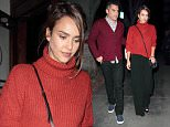 21 Nov 2015 - LOS ANGELES - USA\n*** EXCLUSIVE ALL ROUND PICTURES ***\nACTRESS JESSICA ALBA AND HUSBAND CASH WARREN GO FOR A DATE NIGHT BY DINING AT THE MADEO RESTAURANT IN HOLLYWOOD.\nBYLINE MUST READ : XPOSUREPHOTOS.COM\n***UK CLIENTS - PICTURES CONTAINING CHILDREN PLEASE PIXELATE FACE PRIOR TO PUBLICATION ***\n**UK CLIENTS MUST CALL PRIOR TO TV OR ONLINE USAGE PLEASE TELEPHONE  44 208 344 2007**
