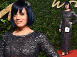 23 November 2015.\nThe British Fashion Awards 2015 held at London Coliseum, St Martin's Lane, London.\nHere: Lily Allen\nCredit: Justin Goff/GoffPhotos.com   Ref: KGC-03\n