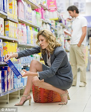 Look low: The best deals in supermarkets may be on the bottom shelves
