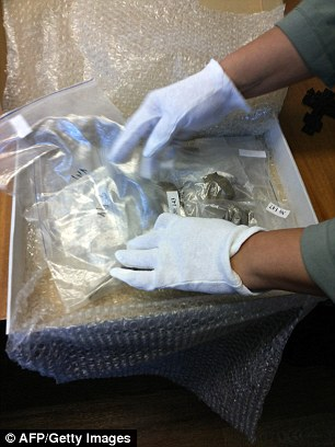 Now a new probe is aiming to finally lay the controversy to rest - and the remains (pictured) too, next to the other members of Russia's last royal family, interred back in 1998 in their former capital Saint Petersburg