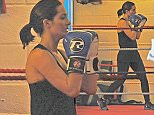 EXCLUSIVE ALL ROUNDER Frankie Bridge is fighting fit, less than three months after giving birth to second son Carter Please byline: Vantagenews.com