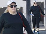 145350, EXCLUSIVE: Rebel Wilson seen arriving a fitness studio in Los Angeles. Los Angeles, California - Monday November 23, 2015.  CA. Photograph: Bruja, © PacificCoastNews. Los Angeles Office: +1 310.822.0419 sales@pacificcoastnews.com FEE MUST BE AGREED PRIOR TO USAGE