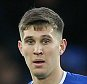 Everton's John Stones during the Barclays Premier League match between Everton and Aston Villa played at Goodison Park on November 21st 2015