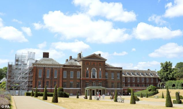 A Kensington Palace spokesman said the cost of any interior decorating would be covered privately by the Royal Family, adding that the £1 million of public money was spent on structural work