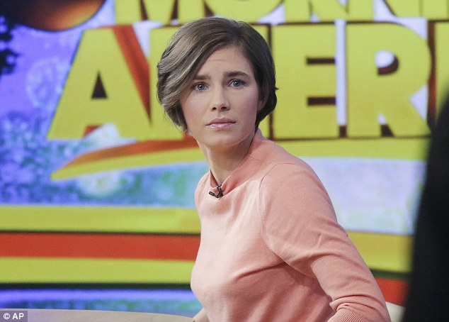 First interview: Amanda Knox became emotional as she appeared in her first live interview on Good Morning America since her shock guilty verdict was announced on Thursday. She said she will fight the verdict
