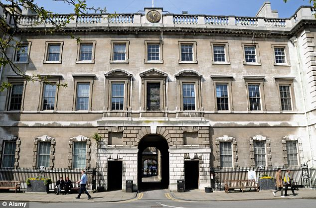 £50million deficit: St Barts Hospital is facing such a cash flow crisis it has drawn up plans to shed nursing staff