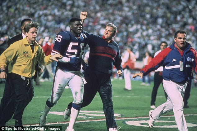 LT: A missed field goal with three seconds to go gave the Giants the win over the Buffalo Bills in Super Bowl XXV