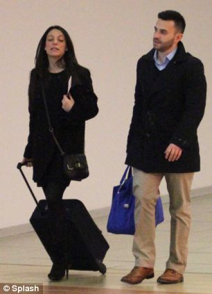 Stephanie Kercher and Lyle Kercher at Florence Airport