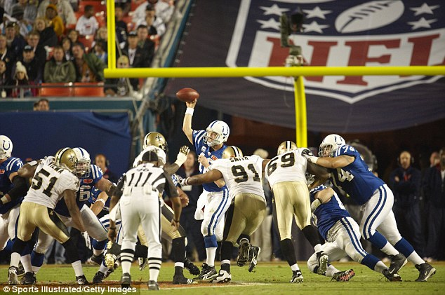 Who dat! The New Orleans Saints bested Peyton Manning and the Colts 31-17 in Super Bowl XLIV