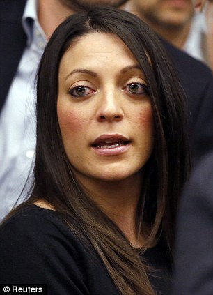 Stephanie, the sister of murdered British student Meredith Kercher