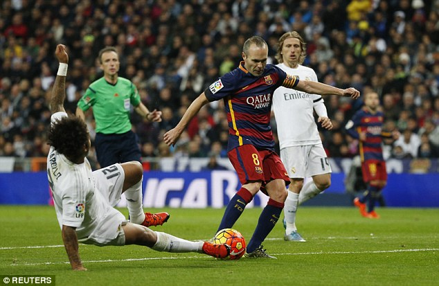 The Spanish maestro then found the net himself with a thumping finish from the edge of the Real box