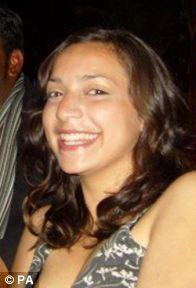 Meredith Kercher, 21, was found dead at her house in Perugia on November 2, 2007