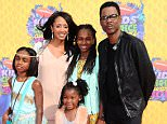 Mandatory Credit: Photo by Startraks Photo/REX Shutterstock (3677266x)  Chris Rock with family  Nickelodeon's 27th Annual Kids Choice Awards, Arrivals, Los Angeles, America - 29 Mar 2014