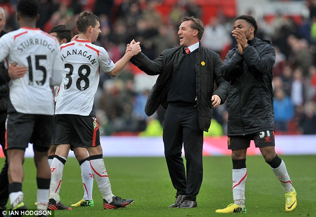 Can they do it? Despite Liverpool's position, Rodgers is still playing down talk of winning the title