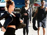 Los Angeles, CA - Chrissy Teigen and John Legend start their morning with a trip to the gym grabbing a cool drink on the way.\nAKM-GSI          November 23, 2015\nTo License These Photos, Please Contact :\nSteve Ginsburg\n(310) 505-8447\n(323) 423-9397\nsteve@akmgsi.com\nsales@akmgsi.com\nor\nMaria Buda\n(917) 242-1505\nmbuda@akmgsi.com\nginsburgspalyinc@gmail.com