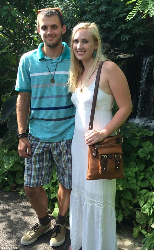 According to her Facebook page, Hanna got engaged to Nathan Wolters (pictured together) this month