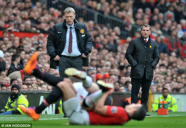 Uppers and downers: United and Liverpool are moving in opposite directions this season
