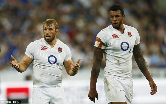 Captain Chris Robshaw was correct when he  conceded elements of England's first-half were 'shocking'