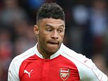 LONDON, ENGLAND - JULY 26:  Alex Oxlade-Chamberlain of Arsenal runs with the ball during the Emirates Cup match between Arsenal and VfL Wolfsburg at the Emirates Stadium on July 26, 2015 in London, England.    Arsenal won the game 1-0.  (Photo by David Rogers/Getty Images)
