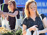 EXCLUSIVE: Amy Poehler gets her Thanksgiving prep ready by stopping by a Farmer's Market for Fresh Produce in Los Angeles. Amy was all smiles as she paid for some fresh persimmons and carrots\n\nPictured: Amy Poehler\nRef: SPL1182182  231115   EXCLUSIVE\nPicture by: Fern / Splash News\n\nSplash News and Pictures\nLos Angeles: 310-821-2666\nNew York: 212-619-2666\nLondon: 870-934-2666\nphotodesk@splashnews.com\n