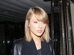 Beverly Hills, CA - Taylor Swift steps out solo after a dinner date at Palm Restaurant. The 'Shake it Off' singer was reportedly joined by her DJ boyfriend Calvin Harris, but he left through a separate exit. Taylor looked classy in an all black ensemble for her night out in Beverly Hills. AKM-GSI         November 17, 2015 To License These Photos, Please Contact : Steve Ginsburg (310) 505-8447 (323) 423-9397 steve@akmgsi.com sales@akmgsi.com or Maria Buda (917) 242-1505 mbuda@akmgsi.com ginsburgspalyinc@gmail.com