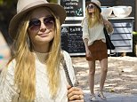 23 NOVEMBER 2015 SYDNEY AUSTRALIA\nEXCLUSIVE PICTURES\nBridget Malcolm pictured with some friends at the Boathouse Balmoral Beach enjoying a late lunch.