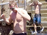 November 10, 2015: Lleyton Hewitt doing a tough training session than followed by a swim at Clovelly Beach \nEXCLUSIVE\nMandatory Credit: INFphoto.com\nRef: infausy-10/17