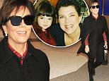 Kris Jenner spotted in Los Angeles wearing a christmas themed plaid shirt as she arrives in Los Angeles.  The KUWTK star was seen at LAX with her bodyguard making her way to a waiting limo. \n\nPictured: Kris Jenner\nRef: SPL1183635  231115  \nPicture by: Sharky / Splash News\n\nSplash News and Pictures\nLos Angeles: 310-821-2666\nNew York: 212-619-2666\nLondon: 870-934-2666\nphotodesk@splashnews.com\n