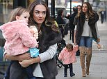 jkpix tamara ecclestone and daughter sophia at her salon Show in westbourne grove london