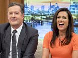 EDITORIAL USE ONLY. NO MERCHANDISING  Mandatory Credit: Photo by Ken McKay/ITV/REX Shutterstock (5416708by)  Piers Morgan and Susanna Reid  'Good Morning Britain' TV Programme, London, Britain - 23 Nov 2015