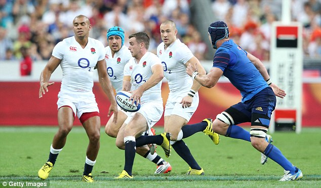 Bath No 10 George Ford had a first-half night to forget on Saturday but improved after the break
