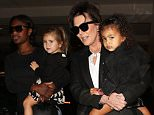 Monday, September 23, 2015 - Kris Jenner on grandma duty with North and Penelope at The Grove after telling Kim she can't go to Paris while heavily pregnant. X17online.com