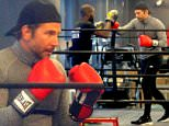 EXCLUSIVE: **PREMIUM EXCLUSIVE RATES APPLY NO NY NEWSPAPERS*** Actor Bradley Cooper throws punches in the boxing ring for his workout in New York City on November 23, 2015\n\nPictured: Bradley Cooper\nRef: SPL1182857  231115   EXCLUSIVE\nPicture by: Christopher Peterson/Splash News\n\nSplash News and Pictures\nLos Angeles:310-821-2666\nNew York:212-619-2666\nLondon:870-934-2666\nphotodesk@splashnews.com\n