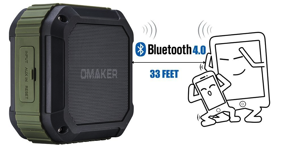 Omaker M4 Portable Bluetooth 4.0