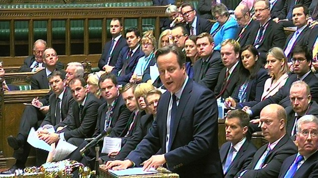 David Cameron announces the Strategic Defence and Security Review