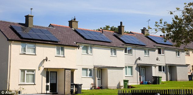 Fun in the sun: If you're out on a sunny day and not using any appliances your electricity is sold back to the National Grid