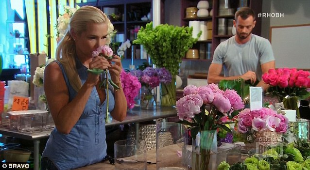 She's Dutch: Yolanda Foster admitted having a fondness for flowers
