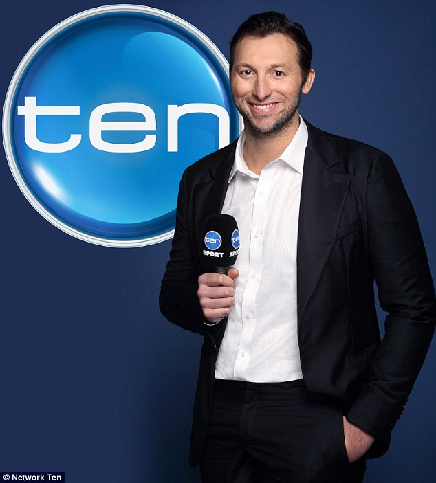 New role: Thorpe will be part of Network Ten's Commonwealth Games commentary team this month