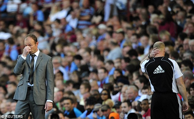 Shearer was in charge when Newcastle suffered relegation during the 2008-09 season