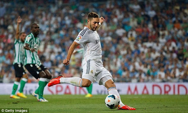 Pedigree: Real Madrid striker Karim Benzema would surely boost Arsenal's Premier League title hopes