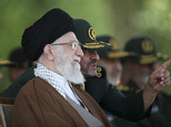 "FILE -- In this file picture released by the official website of the office of the Iranian supreme leader on Wednesday, May 20, 2015, Supreme Leader Ayatollah Ali Khamenei listens to Revolutionary Guard commander Mohammad Ali Jafari during a graduation ceremony of a group of the guard's officers in Tehran, Iran. In remarks to commanders of the elite Revolutionary Guard Wednesday, Nov. 25, 2015, Khamenei said the United States is using ""money and sex"" to try to infiltrate the Islamic Republic and warns Iranians not to fall into the ""enemy's trap."" (Office of the Iranian Supreme Leader via AP, File)"